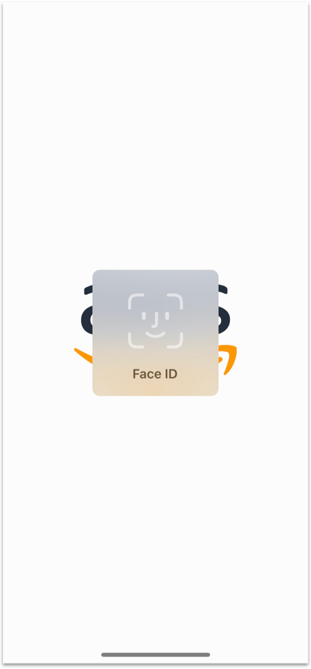 Console Mobile App for iOS face ID