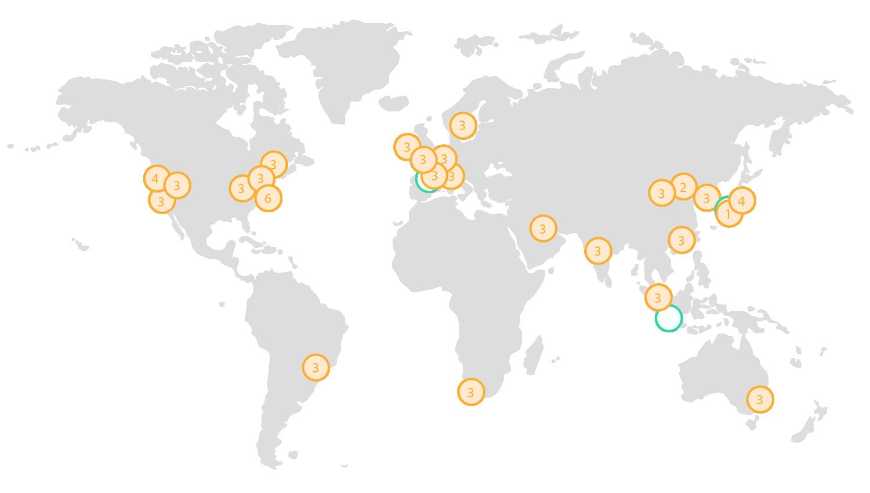Global Map MXP