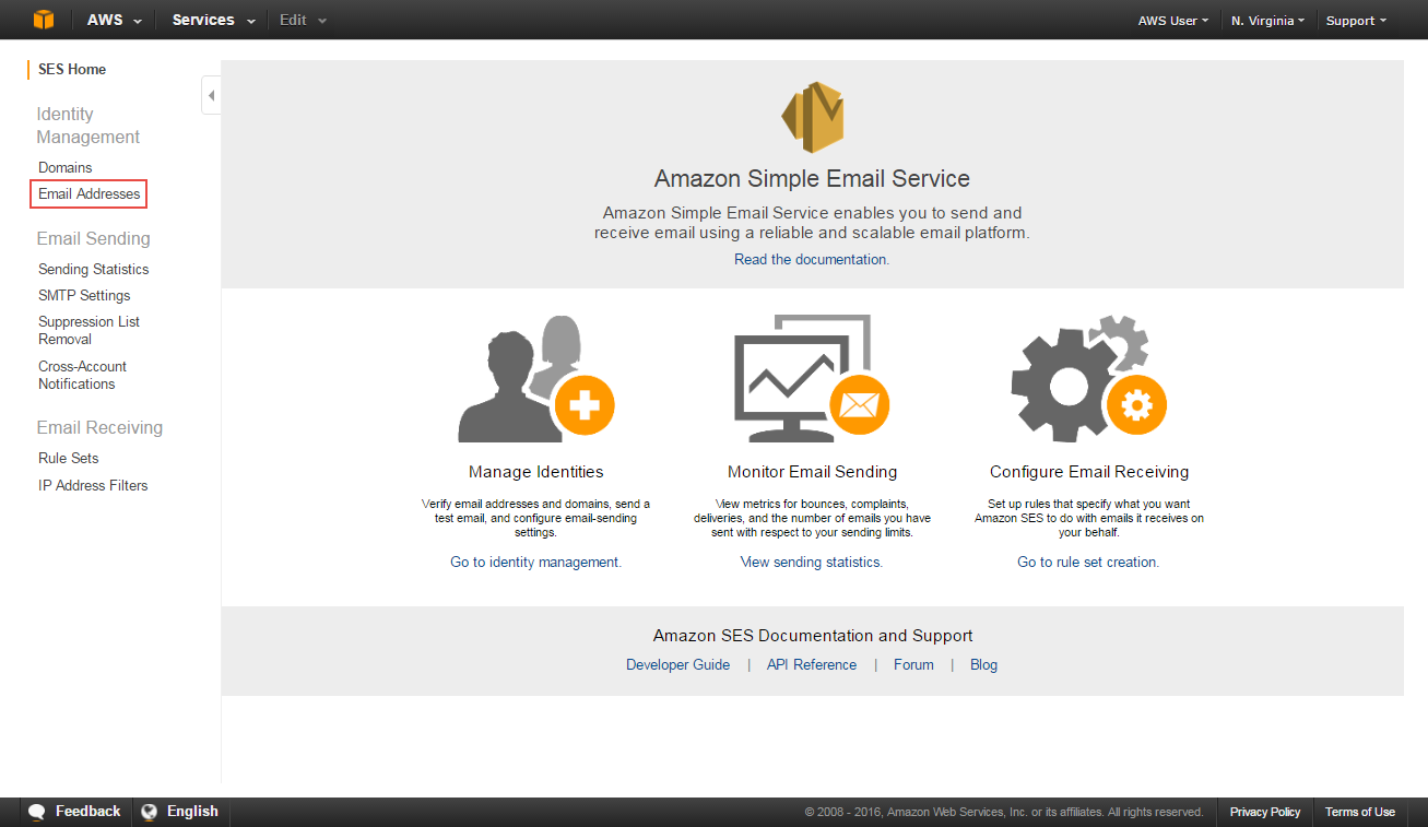 How to send an email – Amazon Web Services (AWS)