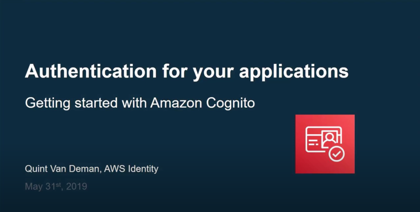 Authentication for Your Applications