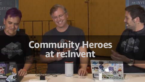 community heroes speaking live