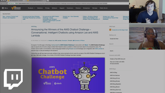 Chatbots Challenge Winners