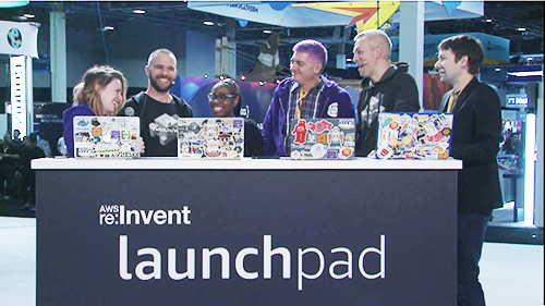 re:Invent Interviews on twitch.tv/aws
