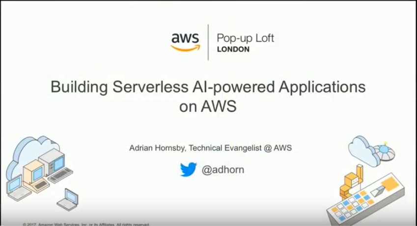 An Introduction to the AI services at AWS