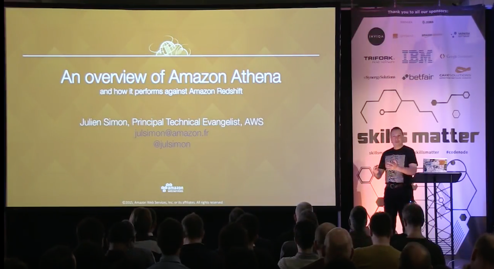 An introduction to Amazon Athena