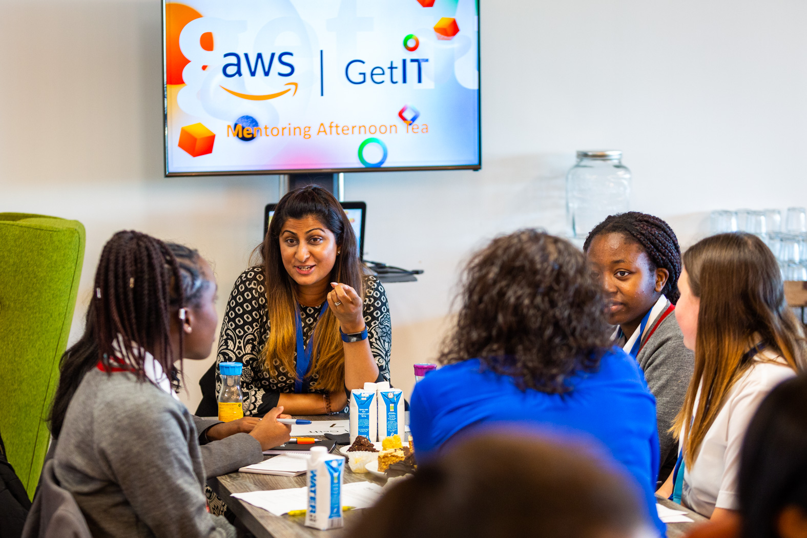 AWS GetIT, Mentoring afternoon tea, 2Oct2019, ©BronacMcNeill