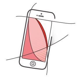 Mobile Cloud-Lösungen – Symbol