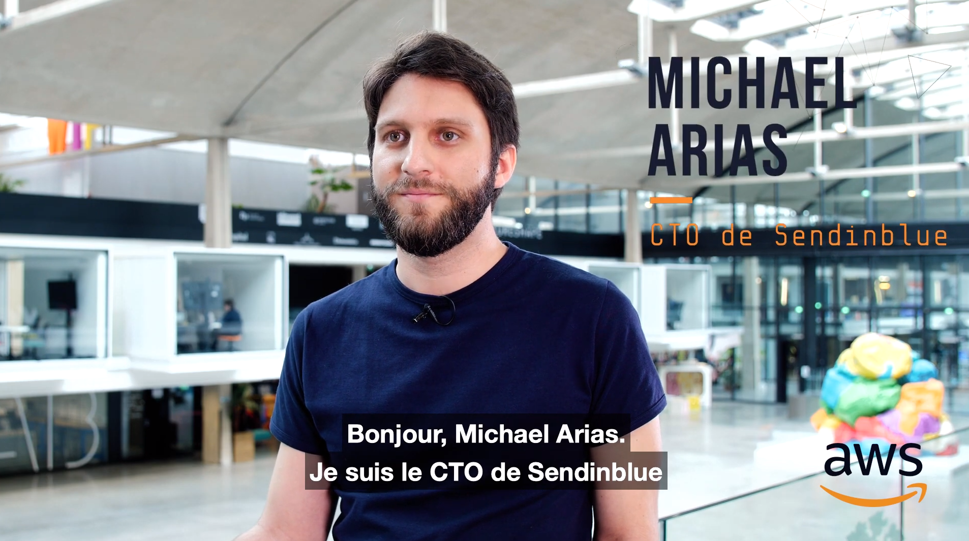 Startup Moments - Fondateur de SendinBlue