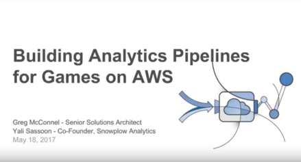 Building Analytics Pipeline for Games on AWS
