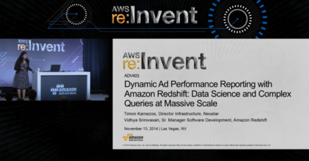 Ad performance Reporting with Redshift: Data Science, Queries at Scale