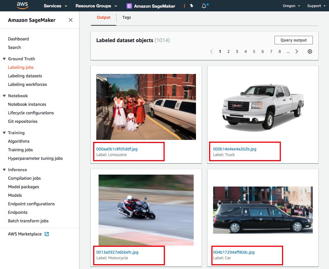 Build Training Datasets with Amazon SageMaker Ground Truth