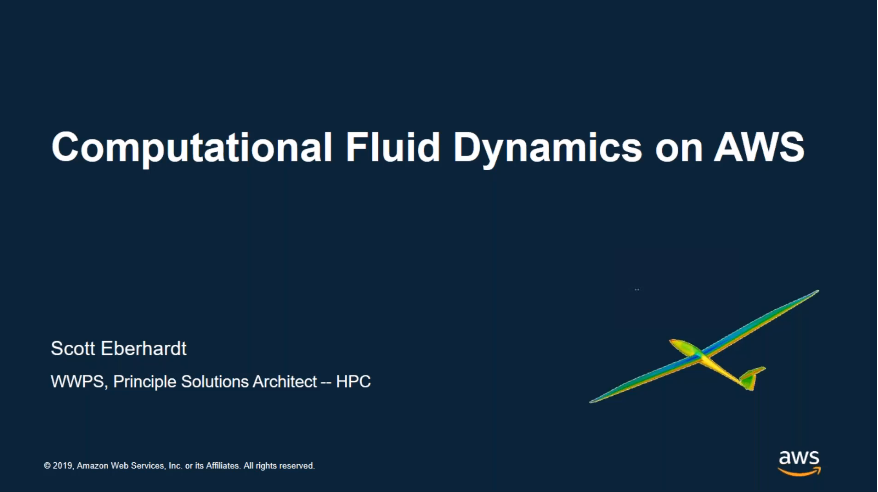 Computational Fluid Dynamics on AWS