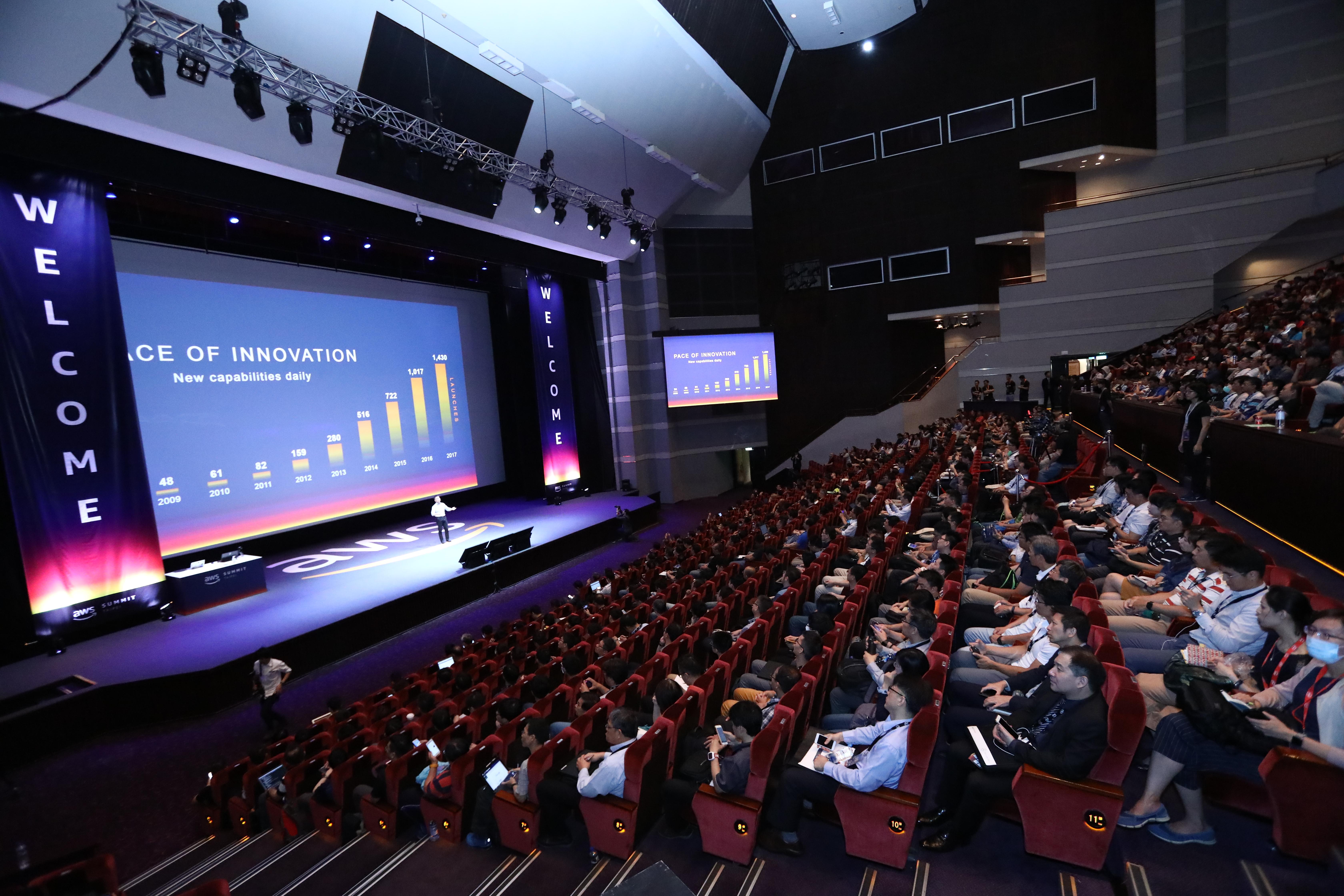 AWS Summit Taipei On-Demand