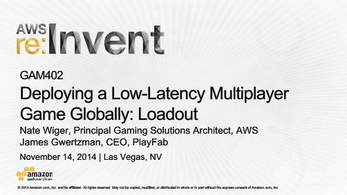 Deploying a Low-Latency Multiplayer Globally: Loadout