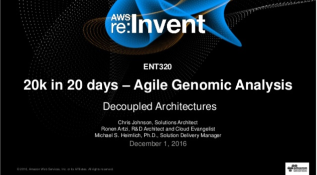 AstraZeneca – re:Invent 2016
