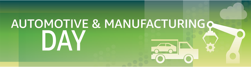 Industry Web Week Automotive Manufacturing Day