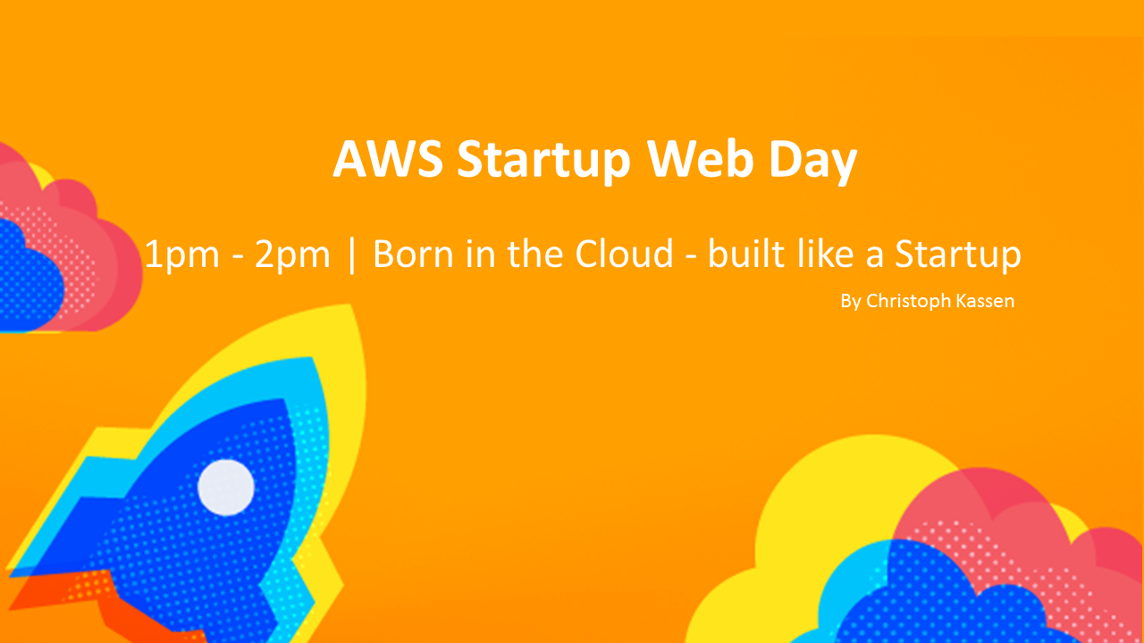 Startup Web day Cloud