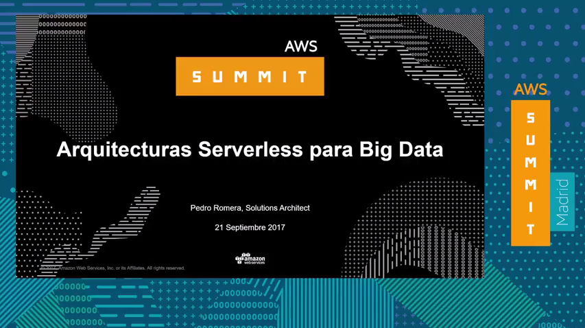 Big Data e Inteligencia Artificial - Big Data sin servidores Si, es posible