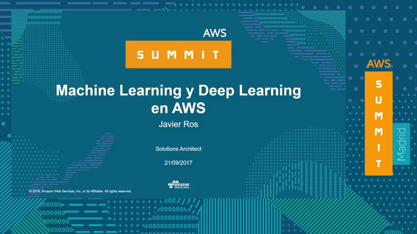 Big Data e Inteligencia Artificial - Machine Learning y Deep Learning en AWS