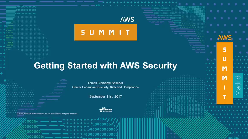 dia1_rompe con los mitos_getting started with aws security