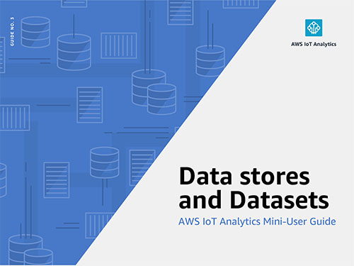 AWS IoT Analytics Mini User Guide: Data stores & Datasets