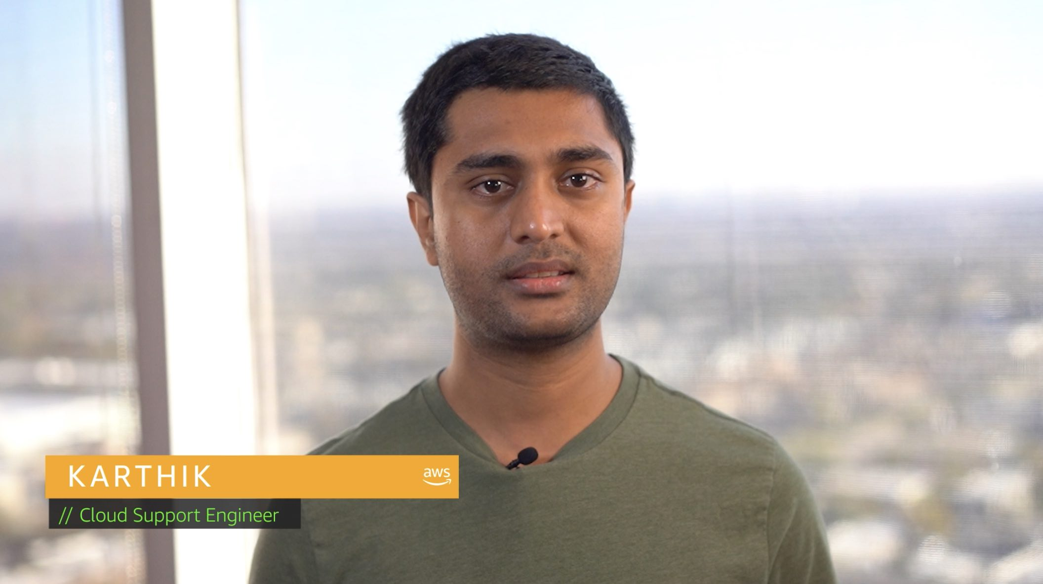 Watch Karthik's video to learn more