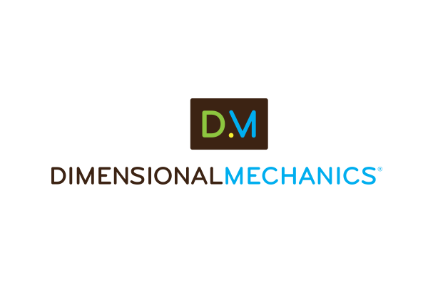 Dimensional Mechanics logo