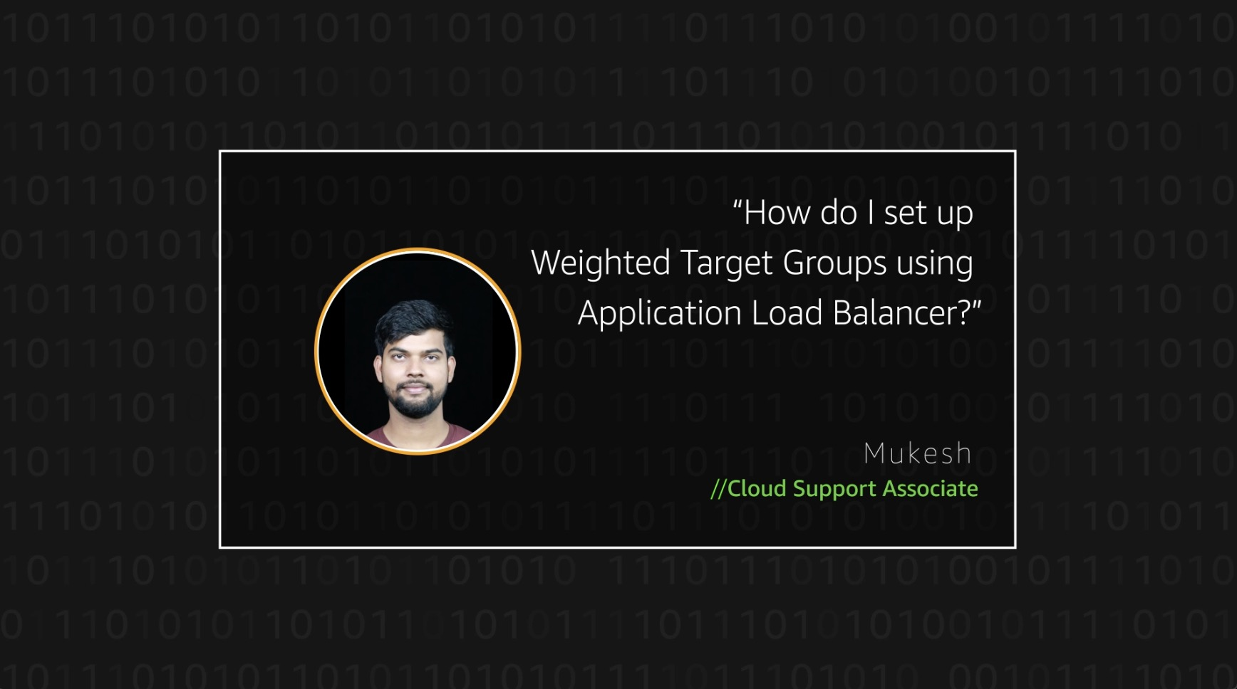 Watch Mukesh's video to learn more