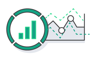 FinServ Analytics Machine Learning icon