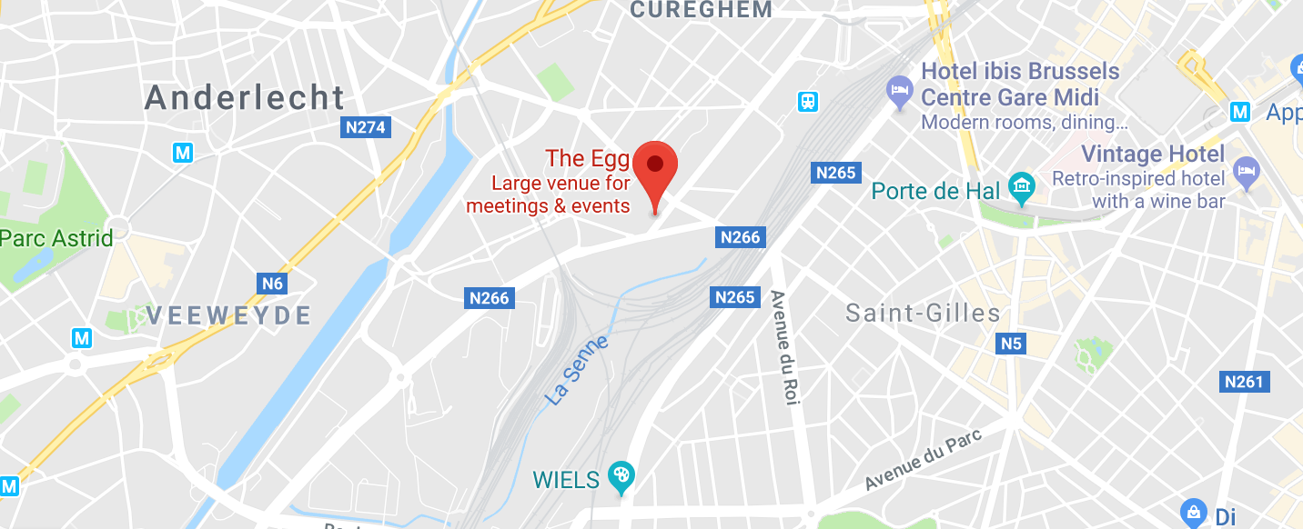 Directions to the AWS Public Sector Summit - Brussels