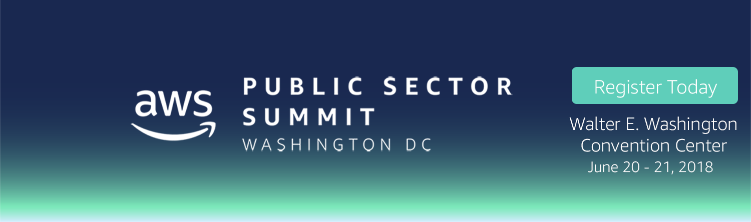 AWS Public Sector Summit Washington, DC 2018