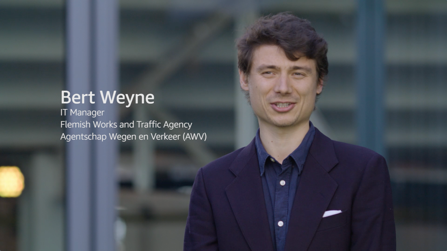 Flemish Works and Traffic Agency on AWS