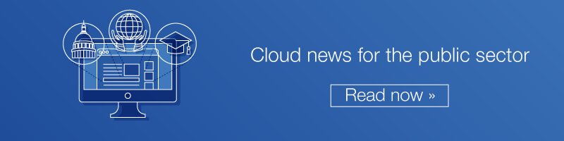 Cloud news for the public sector
