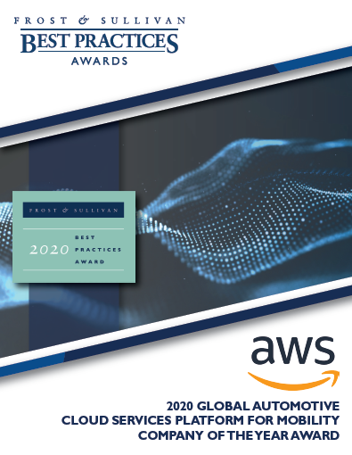 2020 Global Automotive Cloud Services Company of the Year Award