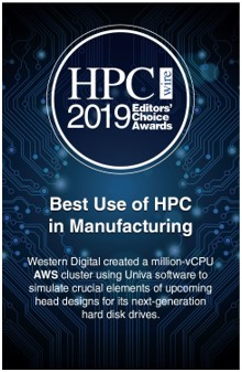 Best use of HPC in manufacturing