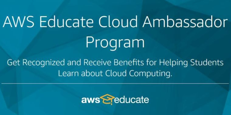 AWS Educate Cloud Ambassador Program