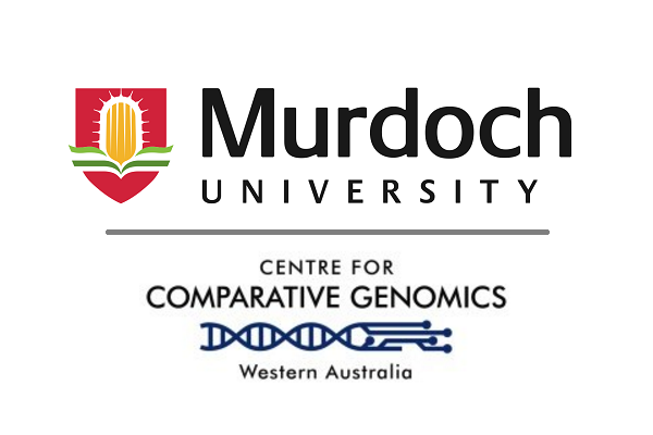 Murdoch University and Centre for Comparative Genomics logos