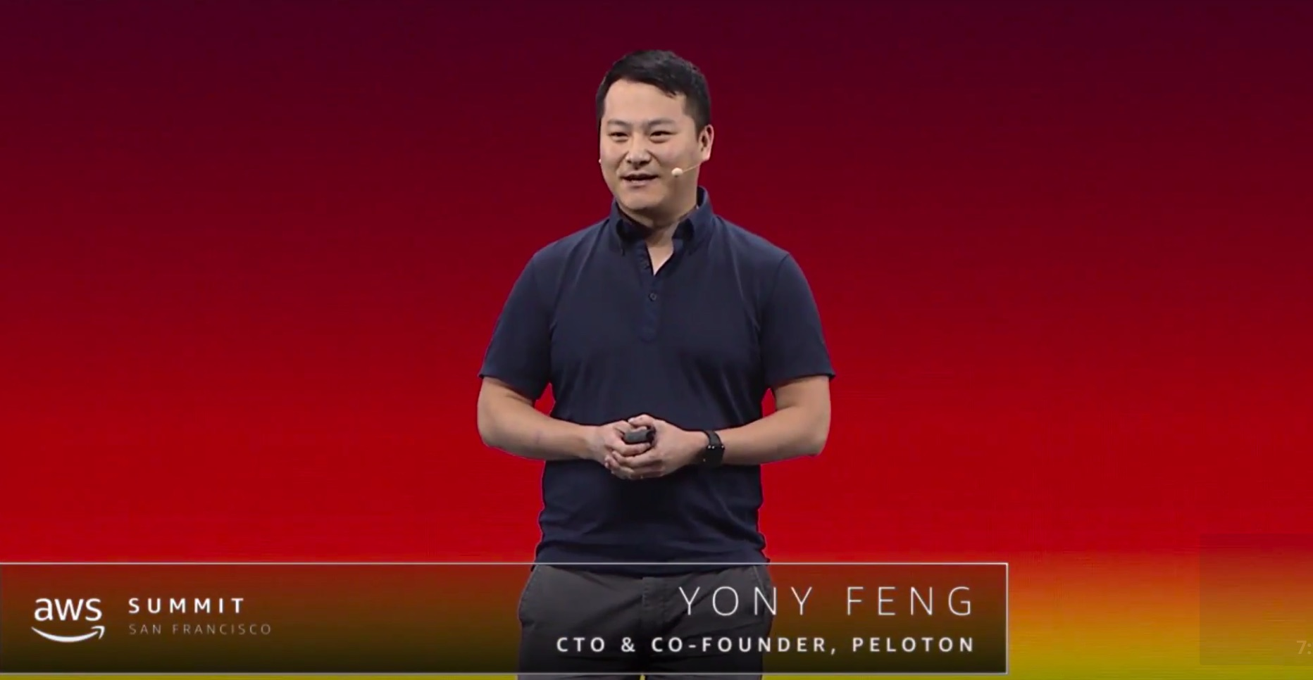 AWS_Summit_Series_2018_-_San_Francisco__Yony_Feng__CTO___Co-Founder_of_Peloton_-_YouTube