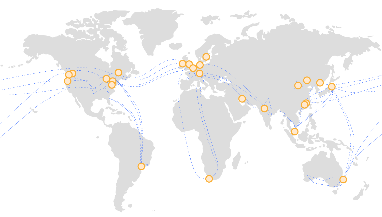 Global Infrastructure Map