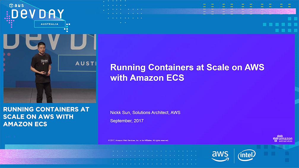 Running Containers at Scale on AWS with Amazon ECS