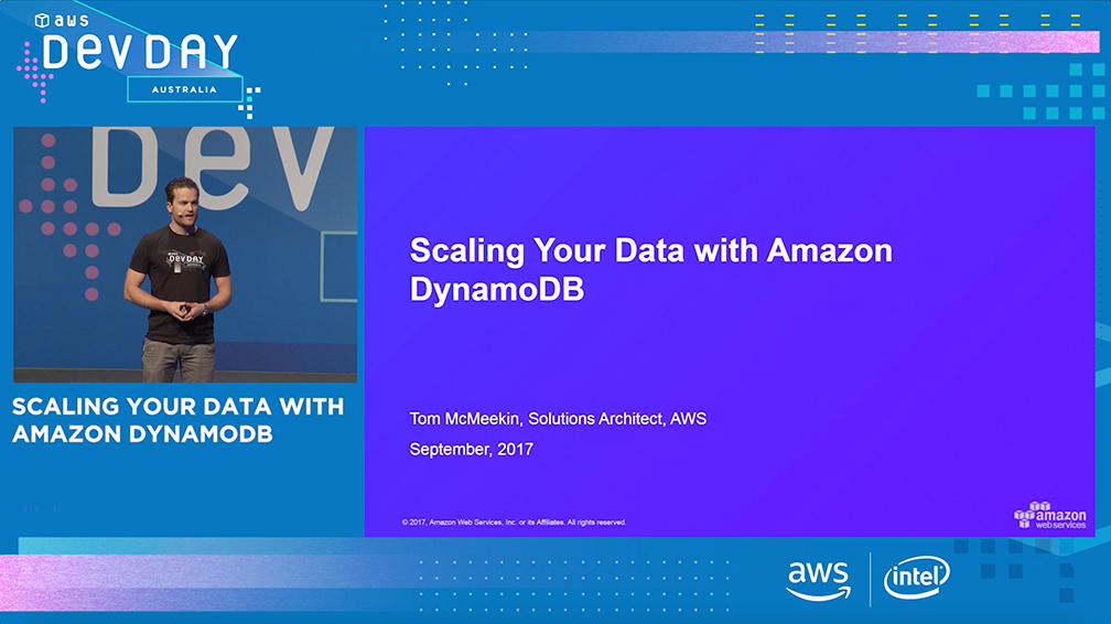 Scaling Your Data with Amazon DynamoDB