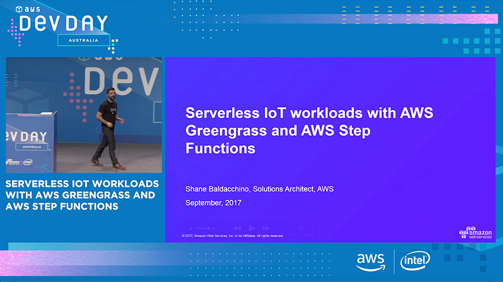 Serverless IoT Workloads with AWS Greengrass and AWS Step Functions