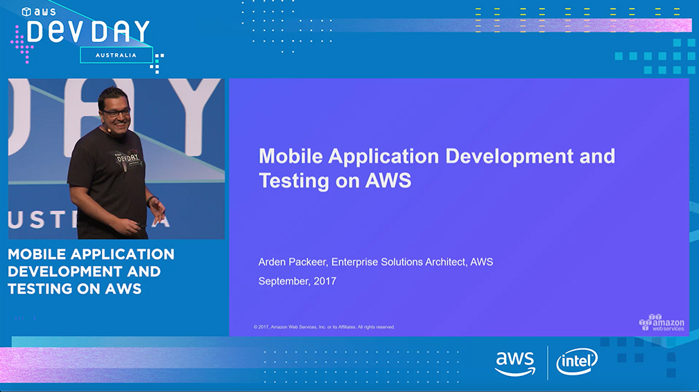 Mobile Application Development and Testing on AWS