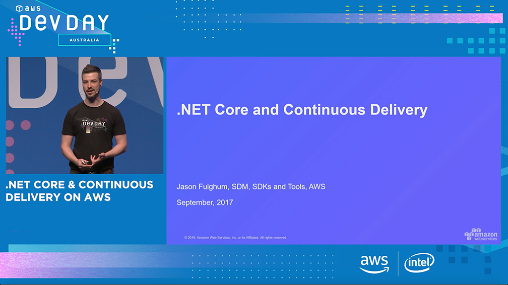 .NET Core & Continuous Delivery on AWS