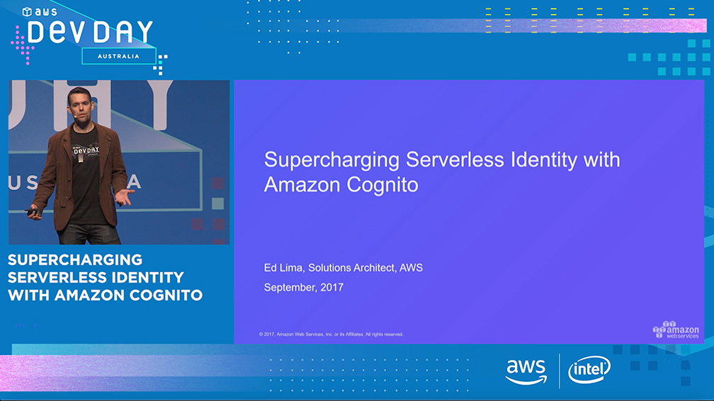 Supercharging Serverless Identity with Amazon Cognito
