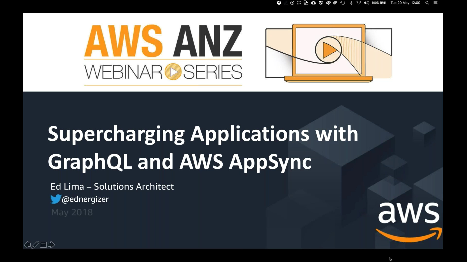 Supercharging+Applications+with+GraphQL+and+AWS+AppSync