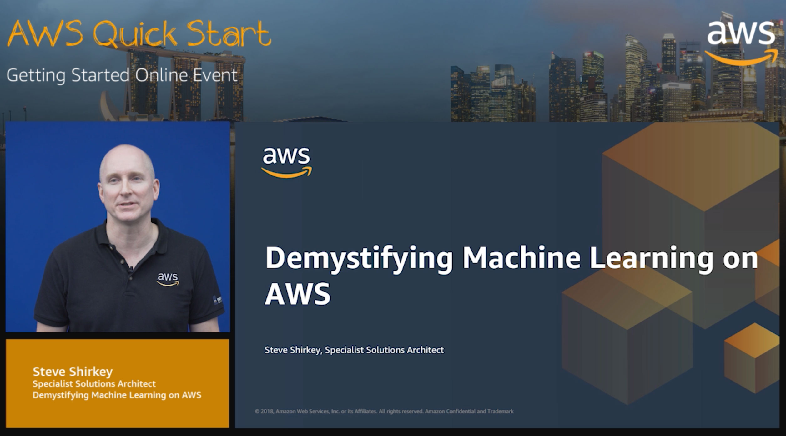 L200: Demystifying Machine Learning on AWS