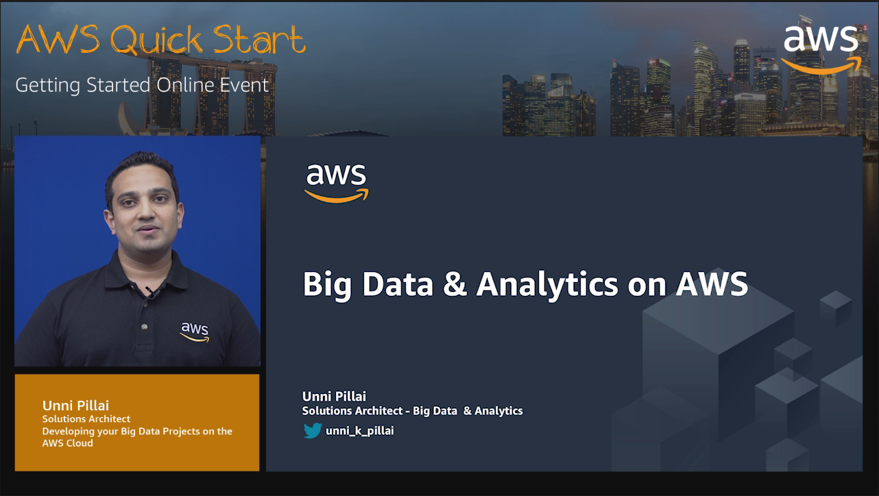 Developing your Big Data Projects on the AWS Cloud
