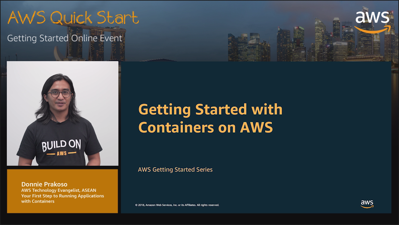 Your First Step to Running Applications with Containers