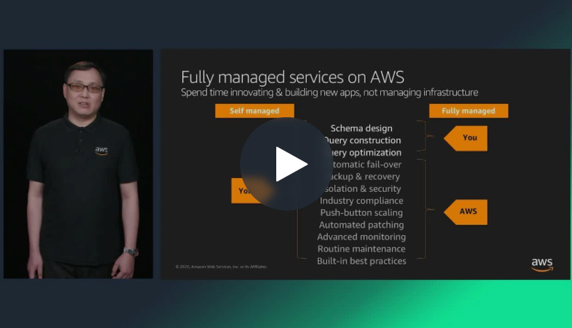 Deploying open source databases on AWS (Level 300)